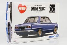 1971 Nissan Skyline 2000GT GC10  Kit Bausatz 1:24 Aoshima 46