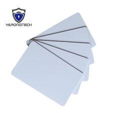 100 Blank Printable PVC Plastic Photo ID White Credit Card 30Mil