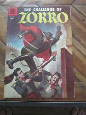 Four Color #732 - The Challenge of Zorro - October 1956 - Dell Comics         ZC