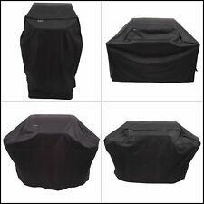 Grill Cover Heavy Duty Char Broil Adjustable-fit Side Straps Uv Water Resistant