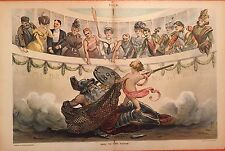 1899 Puck Centerfold - It was a bad year in sports. Out with the old year!