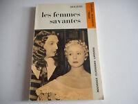 LES FEMMES SAVANTES / MOLIERE - CLASSIQUES LAROUSSE
