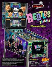 Beatles pinball Diamond edition by Stern. 1 of 100 worldwide. New unopened Mib