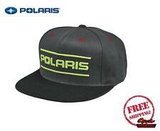 POLARIS DASH SNAPBACK HAT CAP BASEBALL RZR RMK SPORTSMAN ACE GRAY GREEN NEW