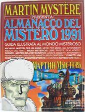 MARTIN MYSTÈRE almanacco del mistero 1991 buono
