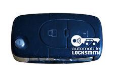 used Vw Volkswagen Golf Passat 2 button flip remote key fob HL0 1J0 959 753 A