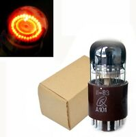 1 x A101 Russian Dekatron Counting Nixie Tube Orange New in Box NOS