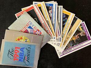 NBA Basketball 1991-1992 Panini VTG Stickers Lot