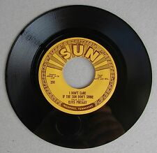 Elvis Presley SUN 210 Good Rockin' Tonight / I Don't Care If Sun Don't Shine
