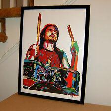 Brad Wilk Rage Against the Machine RATM Metal Music Poster Print Wall Art 18x24