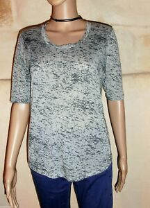 t-shirt THE KOOPLES gris / bleu Taille Medium TRES BON ETAT