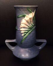 Roseville Pottery Blue Freesia Vase