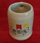 Shot Glass Mini Stein Mug Michelob Beer Ceramic 1.5 oz