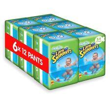 72 Pannolini Huggies Little Swimmers Taglia 3-4 (7-15 kg) Costumino Mare Piscina