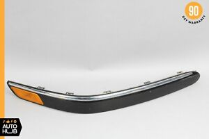 03-06 Mercedes W215 CL500 CL55 AMG Bumper Molding Front Right Side Black OEM