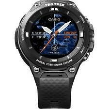 Casio Pro Trek Men's Quartz Black Band 57mm Smartwatch WSD-F20BKAAU
