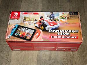 Mario Kart Live Home Circuit Mario Set Nintendo Switch Brand New Fast Shipping