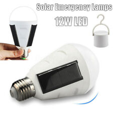 12W Portable Solar Panel Powered LED Bulb Light Emergency Lamps Camping lights