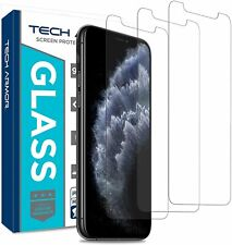 Tech Armor Screen Protector for Apple iPhone 11 Pro / iPhone Xs / X [3-Pack]