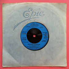 Michael Jackson - She's Out Of My Life / Push Me Away - Epic EPC-8384 Ex+