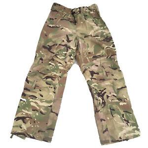 Genuine British Army MTP Goretex Wet Weather Waterproof Over Trousers