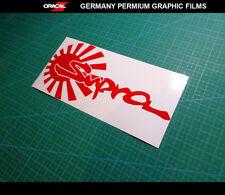 JDM LOGO Supra Toyota Drift Japan Car Vinyl Decal Sticker