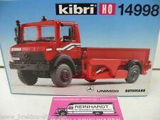 1/87 Kibri 14998 MB Unimog Treibkopfhubwagen Ruthmann