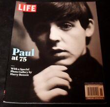 Life Paul McCartney at 75 Beatles Special Magazine 2017 Harry Benson Gallery