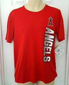 Los Angeles Angels Youth T Shirt Size XL 18 Red Lightweight Moisture Wicking New