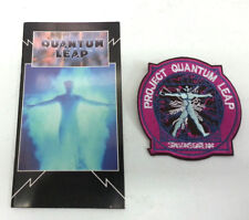Vintage 1990 Quantum Leap Pocket Notebook (Unused) with Free Project Patch