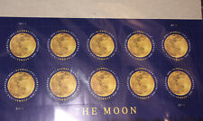 New Sealed (10) Usa Stamp Global 2016 The Moon