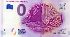 46 PADIRAC Gouffre, 2019, Billet 0 € Souvenir