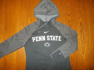 NIKE THERMA-FIT NCAA PENN STATE HOODED SWEATSHIRT WOMENS SMALL EXCELLENT COND.