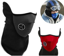 Windproof Motorcycle Face Mask Outdoor Winter Warm Ski Cycling Snowboard CS BLUE
