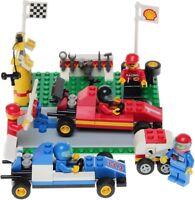 LEGO SYSTEM /2554 SHELL FORMULA 1 PIT STOP /5 MINIFIGURES/RARE/ BNIB NEW SEALED✔
