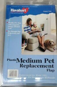 Havahart 7102 Medium Plastic Pet Door Replacement Flap