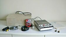 Vintage Grundig C410 Portable Cassette Recorder Player with Accessories