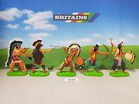Britains Deetail Wild West Indians (lot 3339)