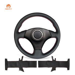Black PU Leather Steering Wheel Cover for Toyota RAV4 Celica Matrix MR2 Supra