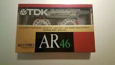 TDK AR 46 Cassette Tape (Sealed)