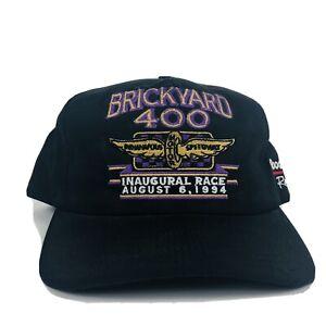 Vintage NASCAR 1994 Brickyard 400 Inaugural Race Bill Elliott Snapback Hat Cap