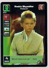 Star Wars Young Jedi CCG Reflections FOIL #4 Anakin Skywalker, Padawan