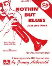 AEBERSOLD 002 Nothin' But Blues Book/CD*