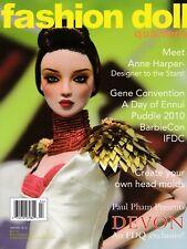"WINTER 2015 /""Magic/"" Issue FASHION DOLL QUARTERLY FDQ MAGAZINE NEW"