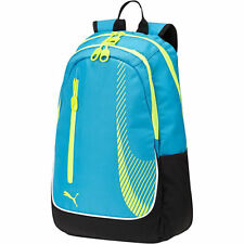 NWT PUMA SUPERSUB BACKPACK BLUE BLACK YELLOW 896450-02 SPORT OFFICE CASUAL