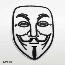 Patche écusson Anonymous Masque V pour Vendetta thermocollant