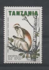 D398 Tanzania 261 postfris Apen