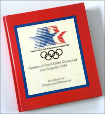 1984 23rd L.A.OLYMPICS Track & Field photo album Lewis Moses Scott + autographs