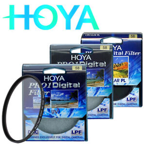 2pcsHOYA PRO1 UV 58mm combination Hoya CIR multi-coated ultra-thin lens