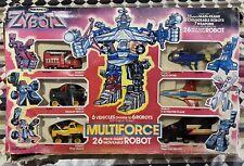 Vintage Remco Zybots Multiforce Combiner Robot Action Figure 1985 Macau TF G1 KO